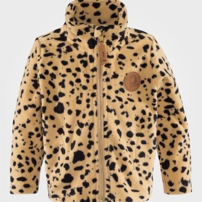 Foto van Mini Rodini Fleece spot fleece jacket