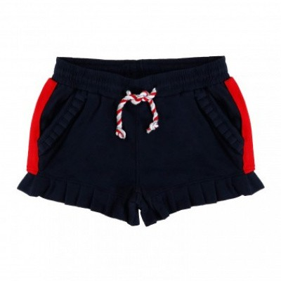 Foto van Little miss Juliette Sweat short navy/rood