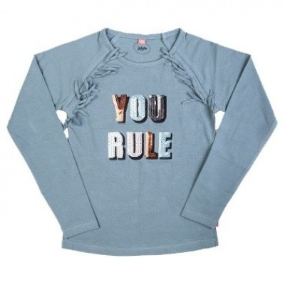 Foto van Little miss Juliette You Rule Long-sleeve GRN