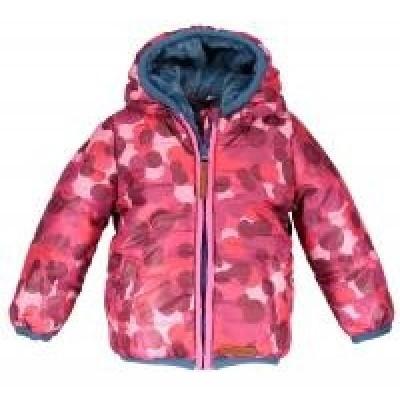 Foto van Moodstreet mini winterjas red pink