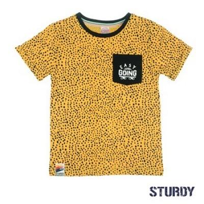 Foto van Sturdy T-Shirt AOP Trillseeker Yellow