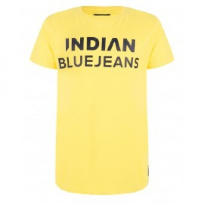 Indian blue jeans boys shirt cyber yellow