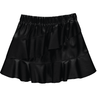 Quapi Girls Teeske skirt Dark Grey