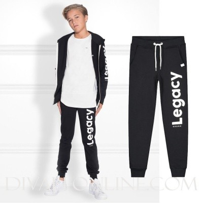 Nik & Nik Farel Sweatpants Black