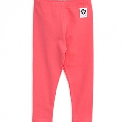 Foto van Mini Rodini Basic Legging Pink