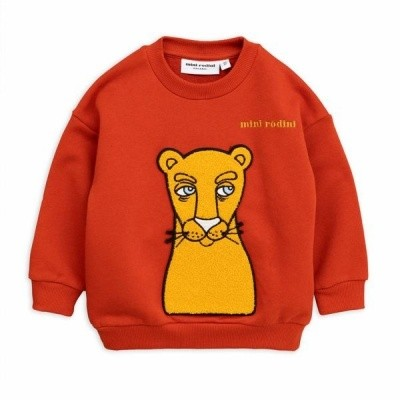 Foto van Mini Rodini sweater cat patch