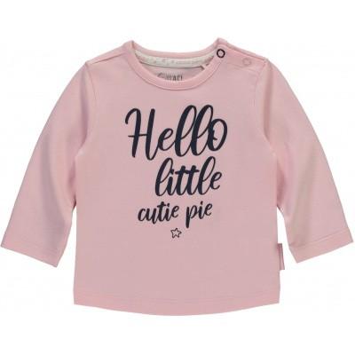 Quapi newborn meisjes longsleeve Xara soft pink