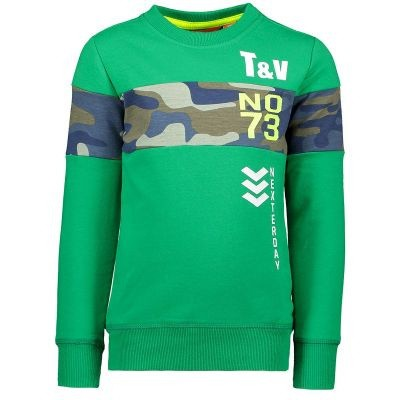 Foto van Tygo & Vito boys sweater green