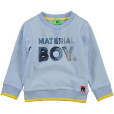 Foto van Funky xs boys sweater material boys light blue