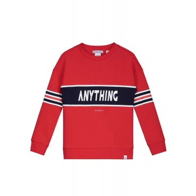 Nik & Nik boys sweater anything apple red
