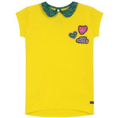 Quapi girls top banana yellow