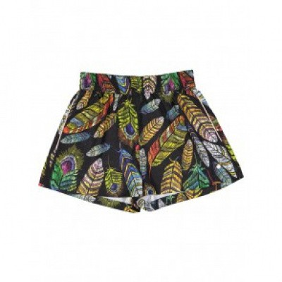 Frankie & Liberty Kyle Short Multicolor Feather print