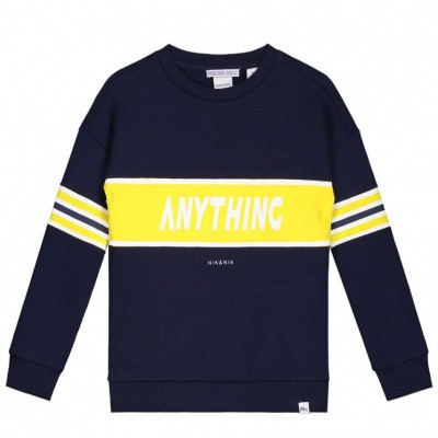 Nik & Nik boys Anything sweater Dark Blue