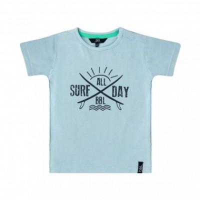 Foto van Beebielove boys t-shirt surf all day blue