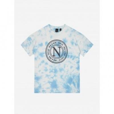 Nik & Nik Lenci Ty Dye T-Shirt Steel Blue