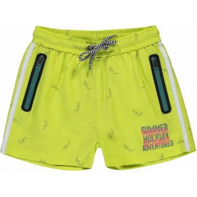 Quapi jongens Swim Shorts Sido Fresh Yellow Tucan