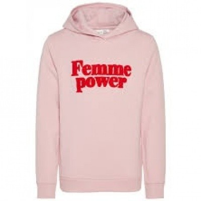 Name it girls sweater Femme power soft pink
