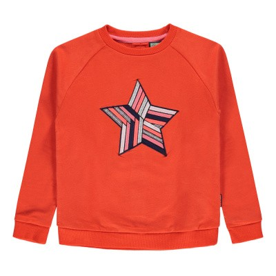 Foto van Tumblen dry girls sweater Kamala cherry tomato
