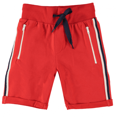 B'Chill Jip short jogpants rood