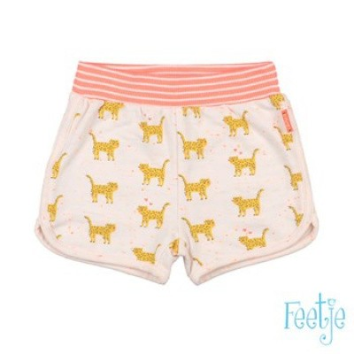 Feetje Baby Girl Short AOP Kiss Off White