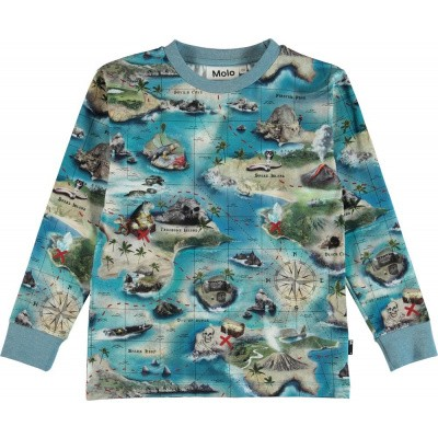 Foto van Molo summer sweater Rai treasure map