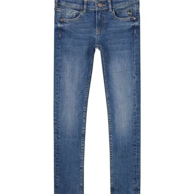 Foto van Nik & Nik Girls Fiona Denim Skinny Light blue denim