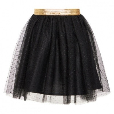 Name it girls skirt tulle black