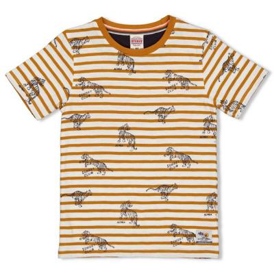 Sturdy shirt creme stripe