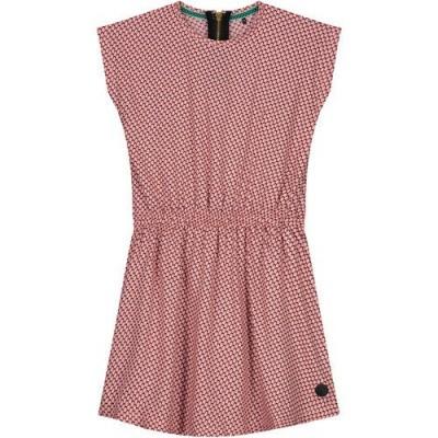 Levv Girls Dress Fanne Soft Peach Retro