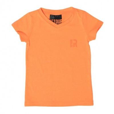 Retour boys T-shirt Sean Neon orange