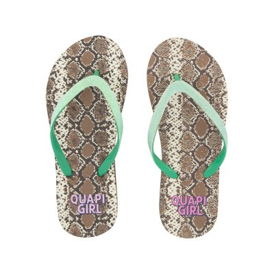 Foto van Quapi Girls Slippers Snake All over Print