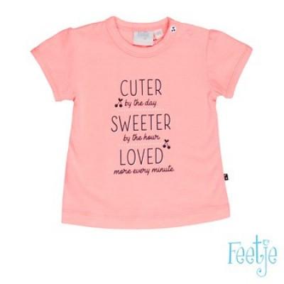 Foto van Feetje baby girl t-shirt pink