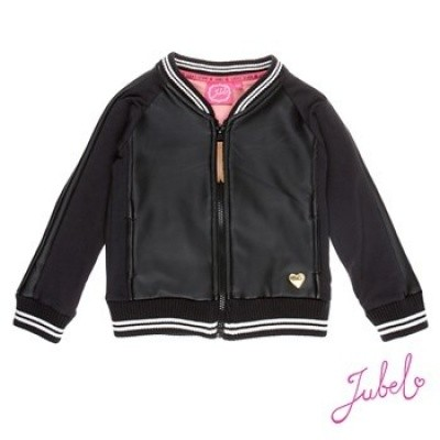 Foto van Jubel vest fake leather black