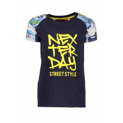 Tygo & Vtio boys T-shirt Strip 190 Navy