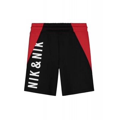 Nik & Nik boys Farido Track Shorts Apple Red