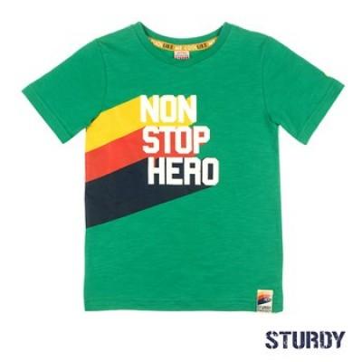 Foto van Sturdy T-Shirt Non Stop Hero Trillseeker Green