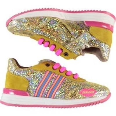 Foto van Kidz-art sneakers Running Elastic Oker