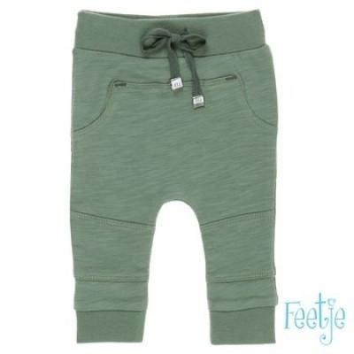 Feetje baby boy jogbroekje army green