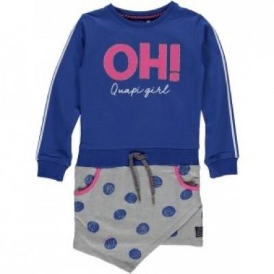Quapi girls Liz Dress Cobalt