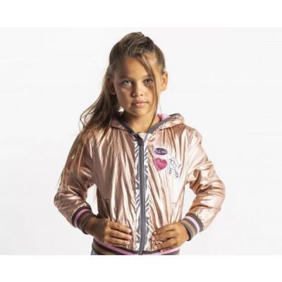 Foto van Quapi Girls Jacket Sarella Silver Gold
