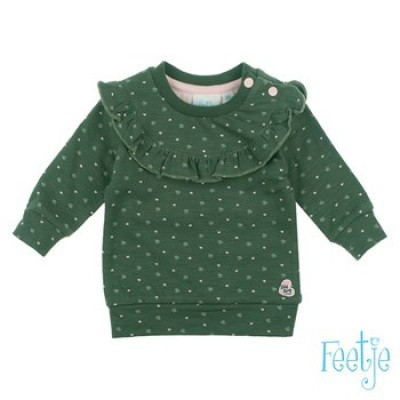 Feetje Baby Girl Sweater Wild Thing Army