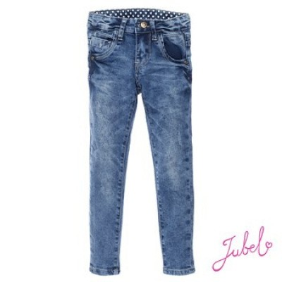 Jubel Power stretched light blue slim fit