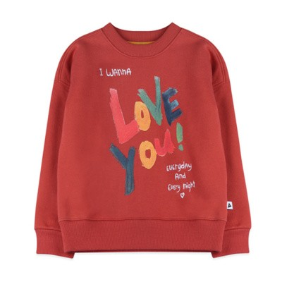 Ammehoela sweater warm red