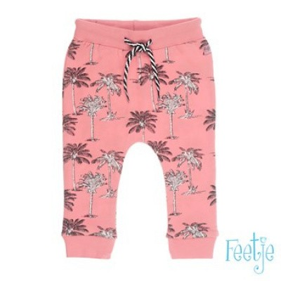 Feetje girls broek All over print palms Sunkissed