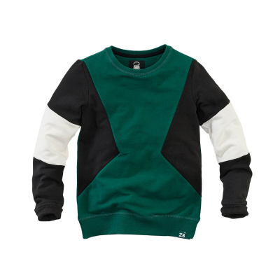 Z8 boys sweater nico forest green