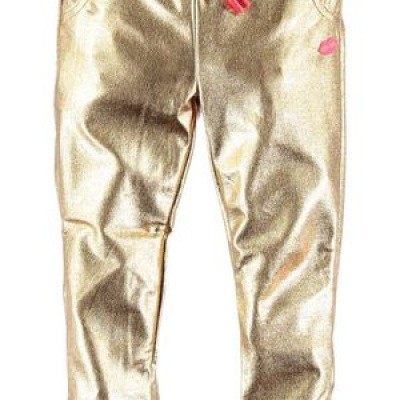 Kidz-art girls jogpants gold