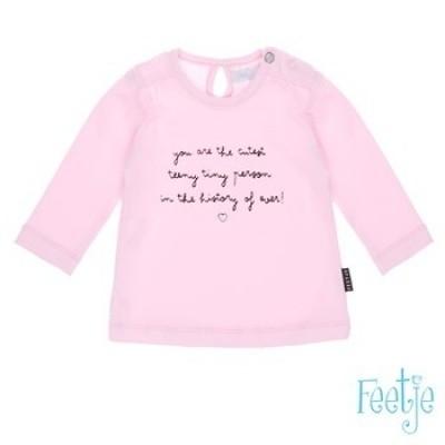 Foto van Feetje newborn girl longsleeve pink