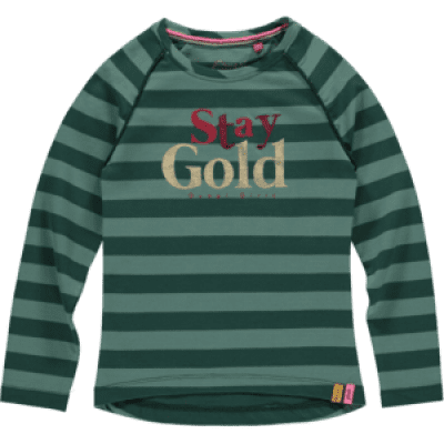 Foto van Quapi girl Theresia Longsleeve Bottle Green