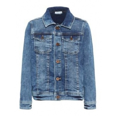 Foto van Name it denim jacket medium blue