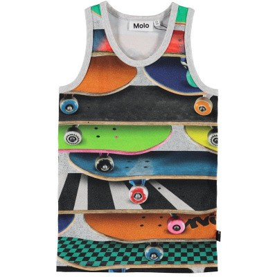 Molo boys tanktop Jim skateboards